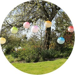 Decoration For Garden Party - Deco For Garden Party - Skylantern-original.co.uk