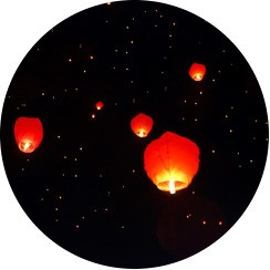 Decoration For National Day - Cheap Party Decoration - SkyLantern Original.fr