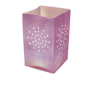 Lilac Candle Bag Large Size x10