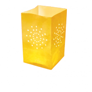 Yellow Candle Bag Large Size x5